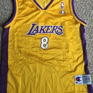 Kobe Bryant Los Angeles Lakers Vintage Jersey